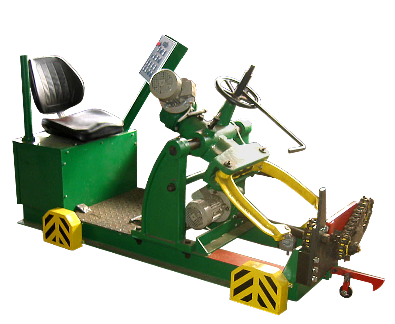 Electric clamping log carriage V 750 with cut-out rotation