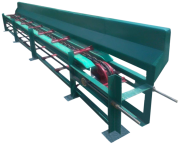 Longitudinal chain conveyor