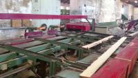 Automatic edging saw
