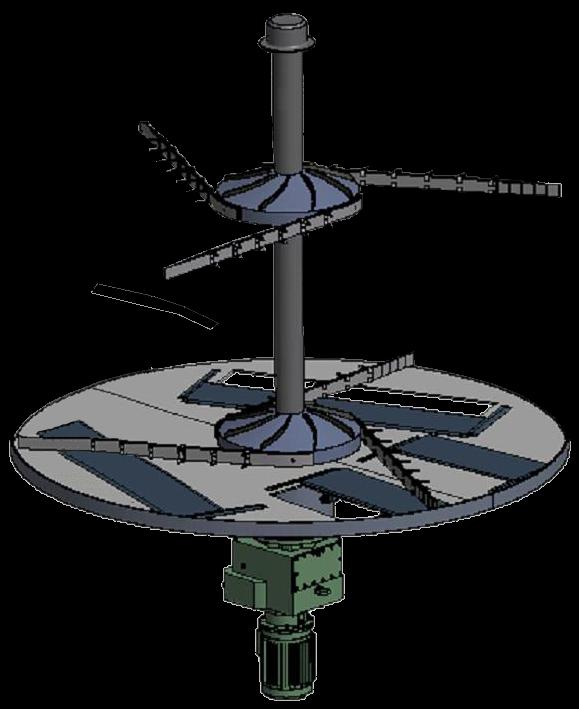 Vyhrnovací zařízení SLP