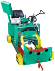 Electric clamping log carriage EV 750 with cut-out rotation