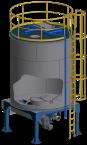 Sawdust silo (20 m3)